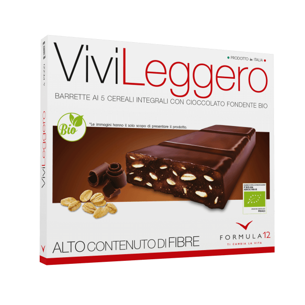 Snack Vivi Leggero al Cioccolato fondente bio
